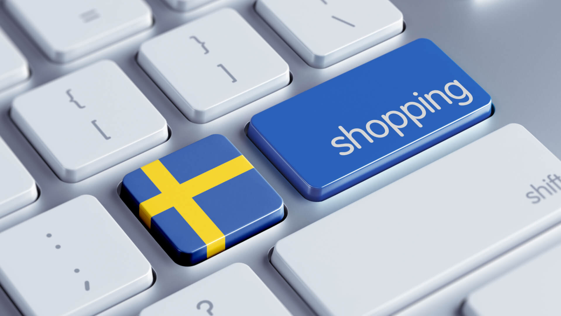 Sverige og shopping