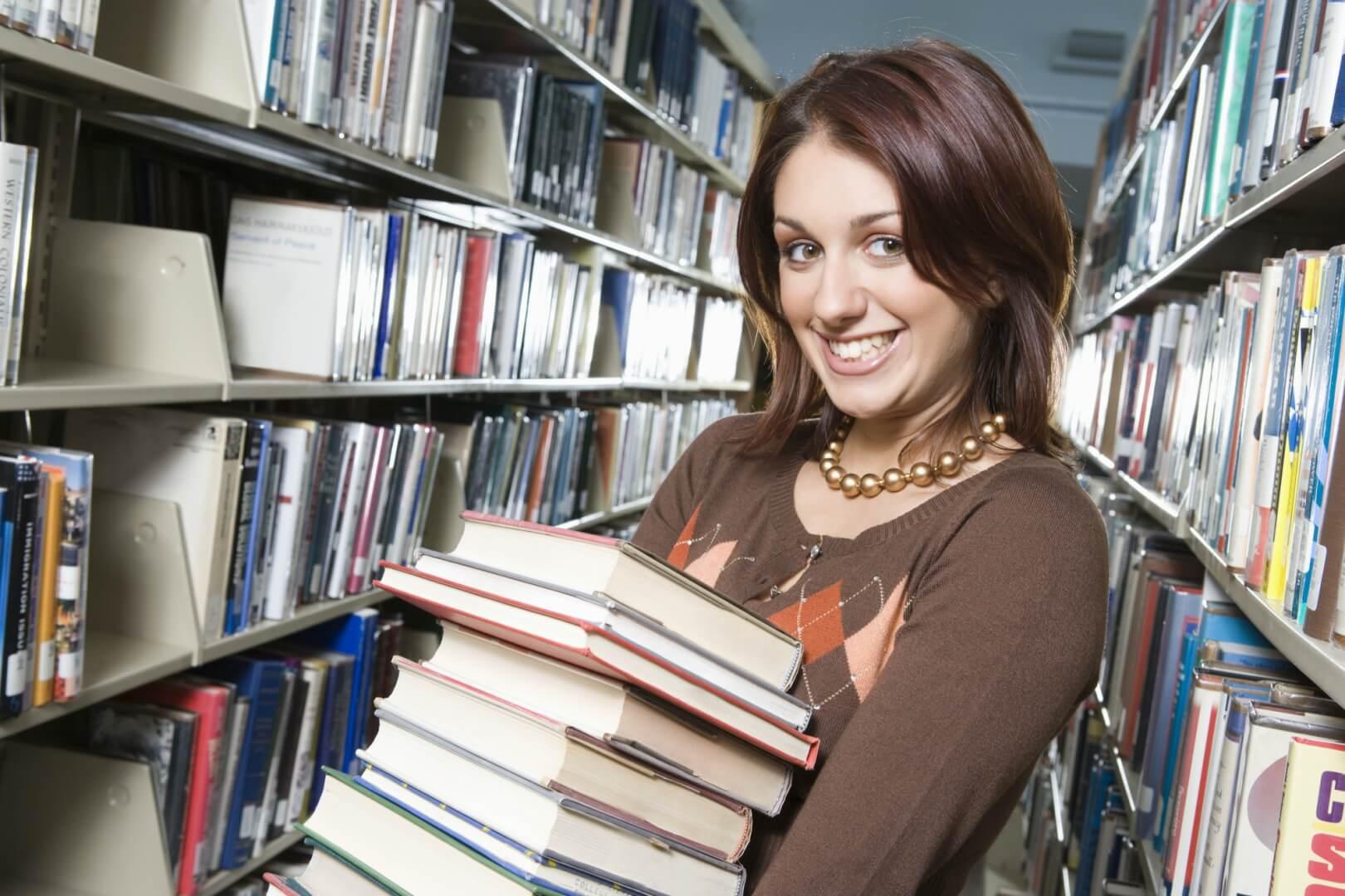Bøger på bibliotek