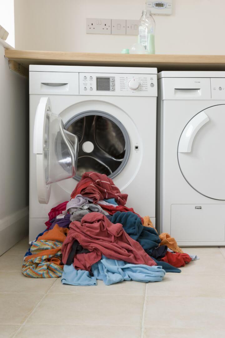 Tørretumbler og vaskemaskine