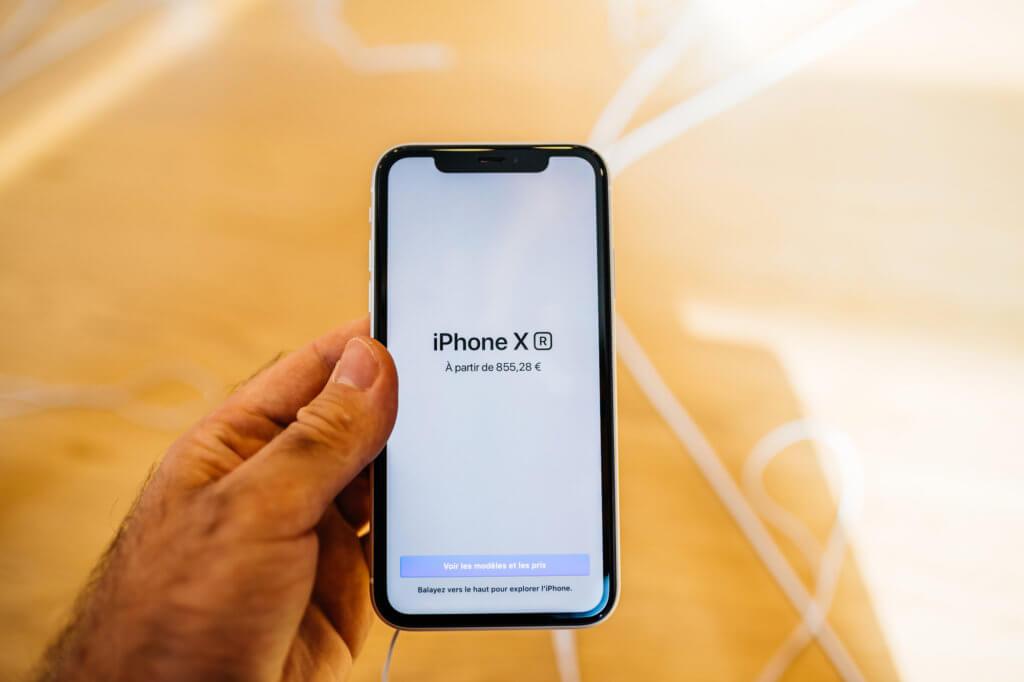 iPhone XR på afbetaling