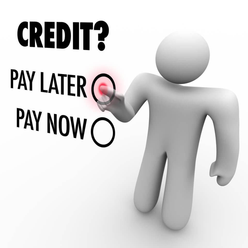 Betal senere med kredit