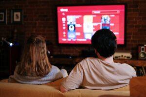 Et par ser TV sammen
