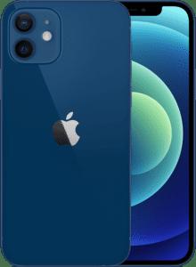 Blå iPhone 12