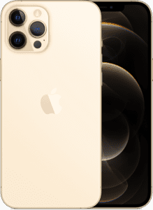 iPhone 12 Pro Max i guld