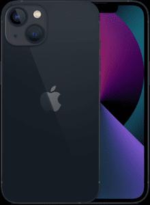 Sort iPhone 13 på afbetaling